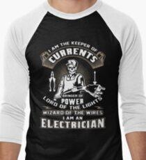 I Am An Electrician Shirt Men's Baseball ¾ T-Shirt