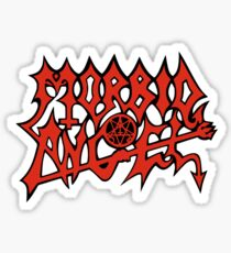 Band Morbid Angel Logo Red Sticker