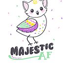 Catbird is Majestic AF by Amy Grace