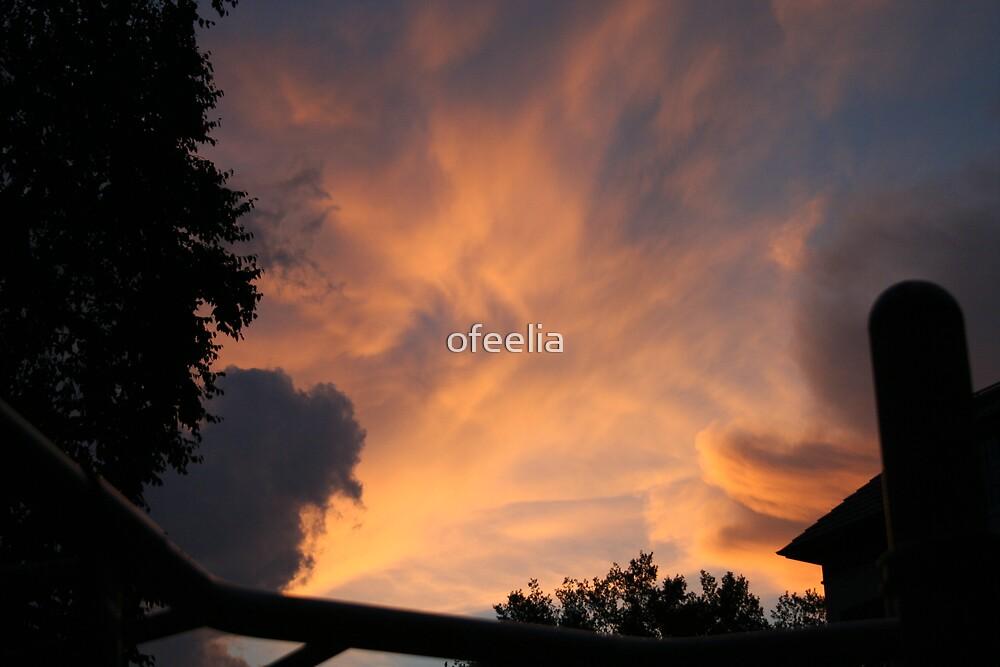 sunset  by ofeelia