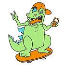 Cool Reptar by Amy Grace