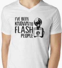I've Been Known To Flash People T-Shirt