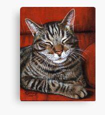 Comfy Chair Canvas Print