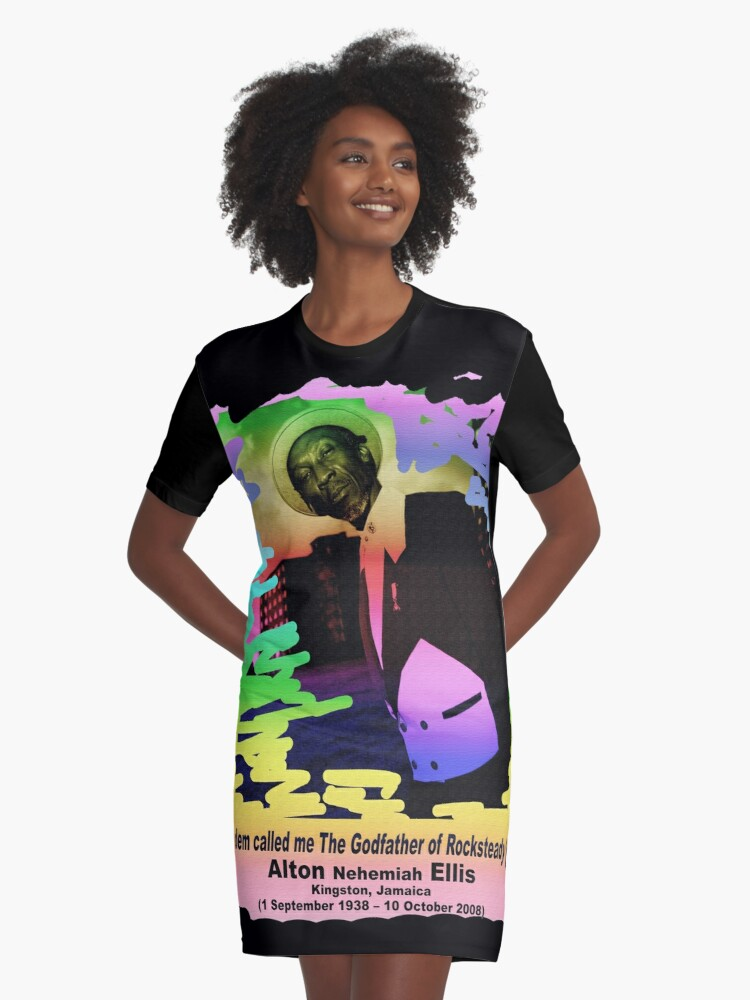 The Godfather of Rocksteady (Special Edition) Graphic T-Shirt Dress Front