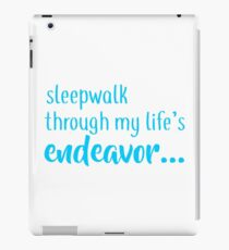 buffy - sleepwalk iPad Case/Skin