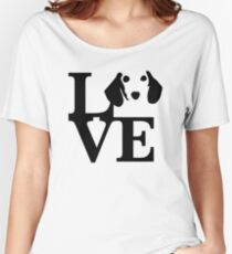 Dachshund Dog Love Women's Relaxed Fit T-Shirt
