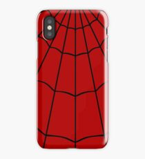 Spider Web - Red iPhone Case