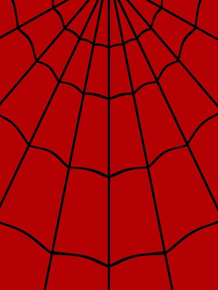 Spider Web - Red by clockworkheart