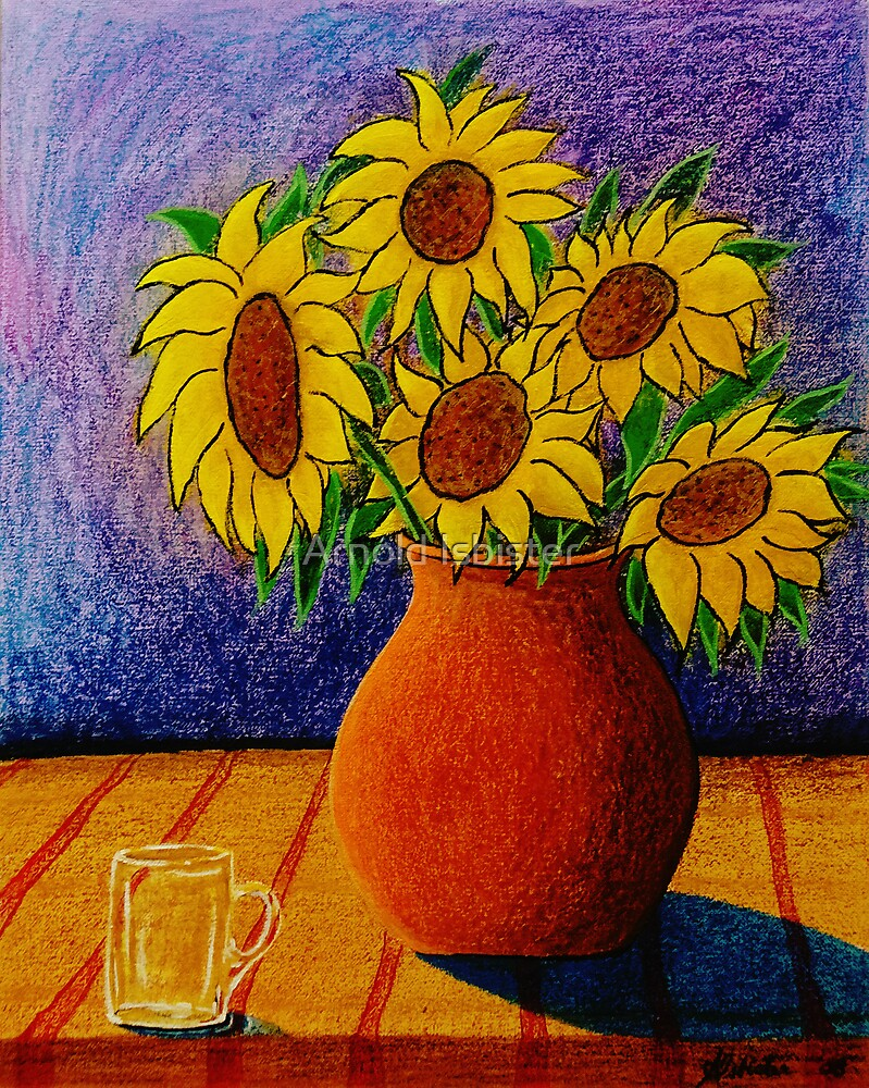 My Sunflowers by Arnold Isbister