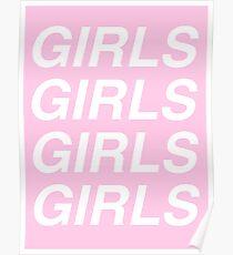 girls girls girls - sapphic Poster