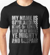 Ozymandias Unisex T-Shirt
