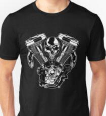 Motor V Skull Vintage T-Shirt