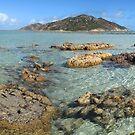 Lizard Island low tide by Reef Ecoimages