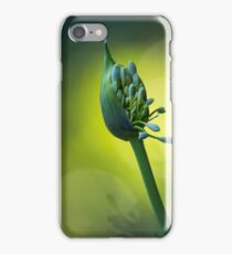 Agapanthus Bud iPhone Case/Skin