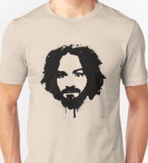 Charles Manson Stencil Unisex T-Shirt