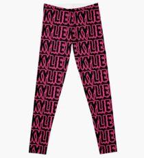 kylie pink blood Leggings