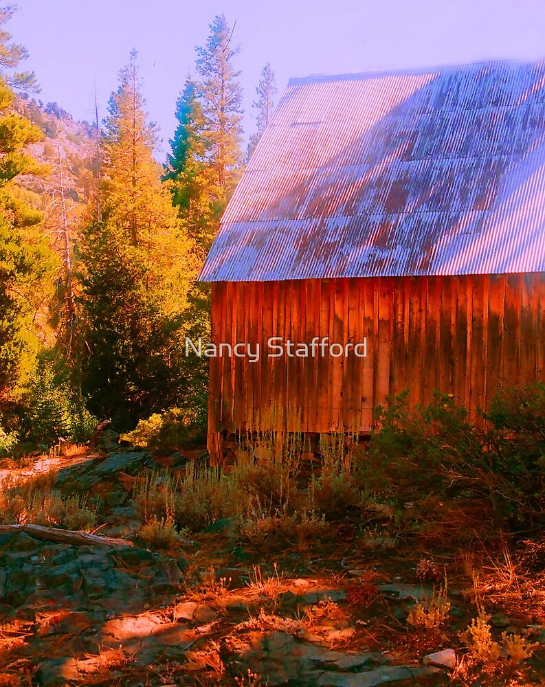 Old Barn, by Nancy Stafford
