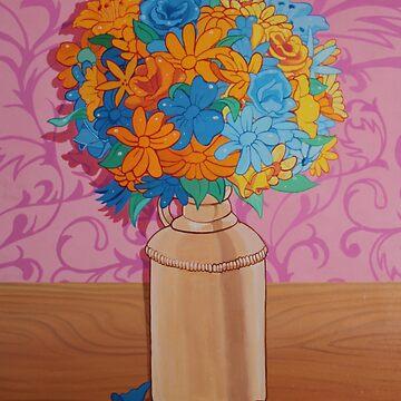 Blaue und gelbe Blumen von em3ricadam