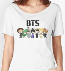 BTS 21st Century Girls (Halloween ver.)  Women's Relaxed Fit T-Shirt