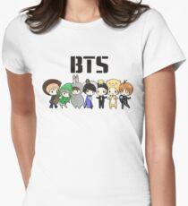 Camiseta entallada para mujer BTS 21st Century Girls (versión de Halloween)
