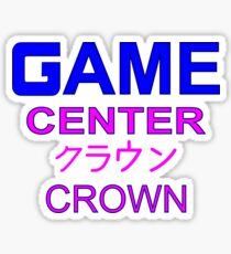 Sailor Moon Crown Arcade  Sticker