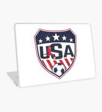 USA Soccer Vintage Logo Laptop Skin