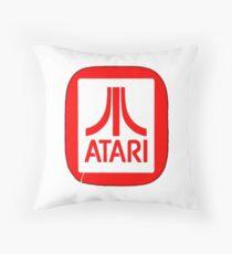 atari logo Throw Pillow