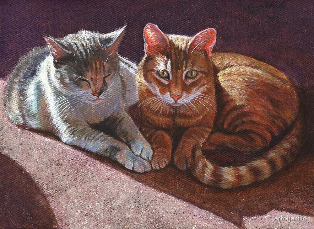Friends by artbyakiko