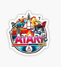 atari retro Sticker