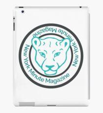 Blue Lioness Emblem iPad Case/Skin