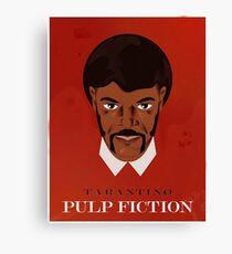Pulp Fiction Poster Canvas Print