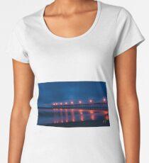 Kure Beach Flat Ocean Women's Premium T-Shirt