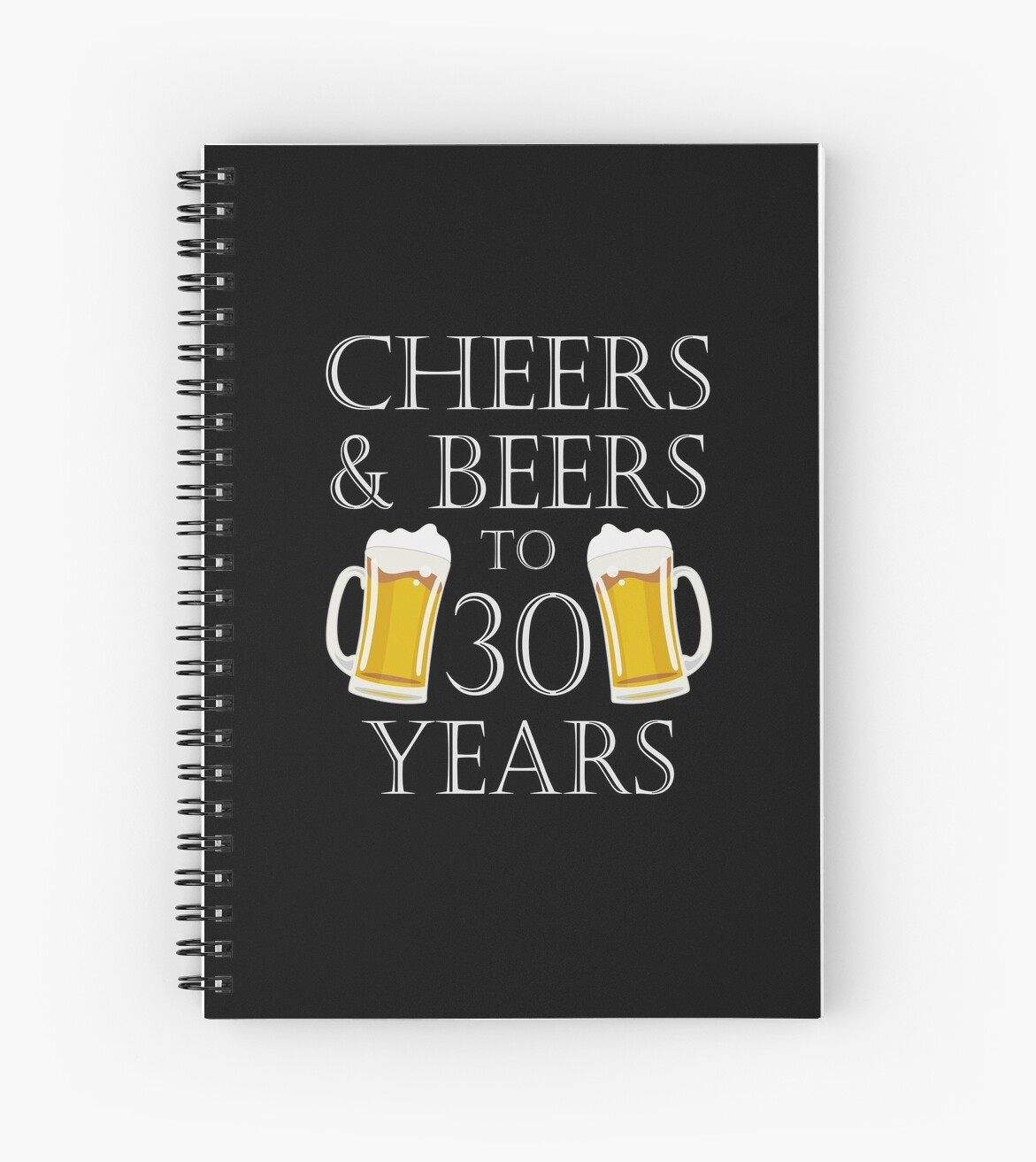 Cheers And Beers To 30 Years 30th Birthday Gift