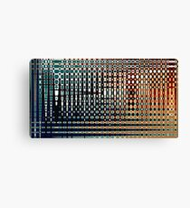 Digital Age Abstract Colourful Pattern - Jenny Meehan Canvas Print