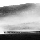 Mist & Smoke in the Megalong by Geoff Smith