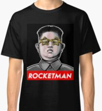 Rocketman Donald Trump Kim Jong-Un Rocket Man T Shirt Classic T-Shirt