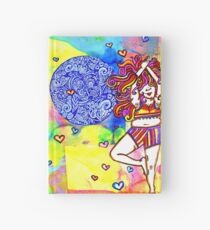 Yogal on High Hardcover Journal