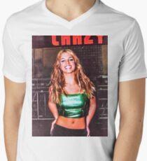 BRITNEY CRAZY Men's V-Neck T-Shirt