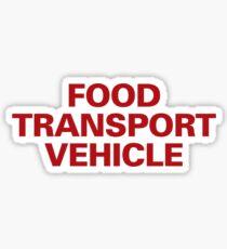 Food Transport Vehicle Sticker