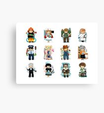 Occupations & Vocations Canvas Print