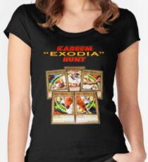 "Kareem ""Exodia"" Hunt Women's Fitted Scoop T-Shirt"