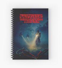 stranger things horror Spiral Notebook