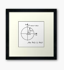 Maths Framed Print