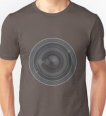 18-200mm Lens Vector Unisex T-Shirt