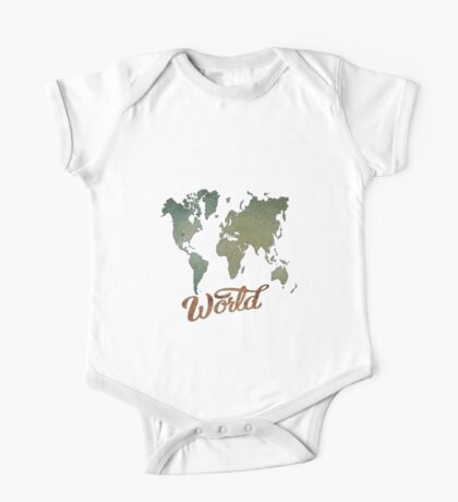 Blue Waters of the Marlborough Sounds /World Map (4149 Views) Kids Clothes