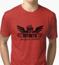 Sons With Arthritis - Arthritis Awareness  Tri-blend T-Shirt