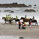 Sharing the beach by SWEEPER