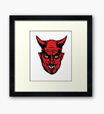 Halloween Horror Devil Gift  Framed Print
