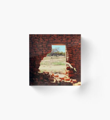 Hole in the Wall Acrylic Block