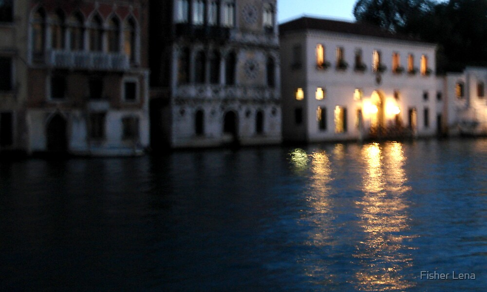 Venice 21h30 by Fisher Lena